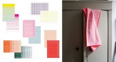 tea towels Scholten & Baijings for HAY