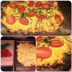 Cauliflower pizza Recipe from Www.vanillablonde.co.za blog. #LCHF #banting