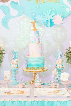Mermaid-Under-the-Sea-Birthday-Party-via-Karas-Party-Ideas-KarasPartyIdeas.com23.jpg (700×1050)