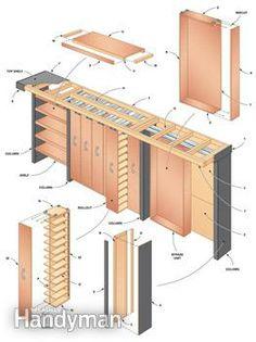 Garage Storage: Space-Saving Sliding Shelves - Step by Step   The Family Handyman