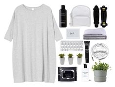 """boring afrternoon- B&W.boring.noisy.sleepy."" by itstinytinaa ❤ liked on Polyvore featuring Monki, Frette, Jil Sander Navy, Urbanears, MAKE UP FOR EVER, Rig-Tig by Stelton, Nearly Natural and Bobbi Brown Cosmetics"