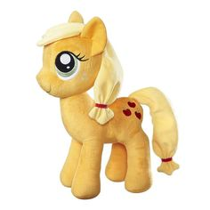 This is a My Little Pony Applejack 12 Inch Plush Figure that's produced by the good folks over at Hasbro. Applejackis roughly 12 inches tall and super soft. S