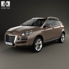 Luxgen 7 SUV 2010 3d model from humster3d.com. Price: $75