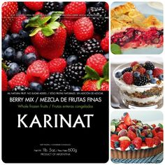 Mix Berries Karinat Encontralos en Jumbo, Disco y Vea!