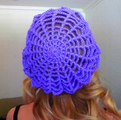A Little Loopy, But I'm Hooked: Spider Web Slouchy Hat