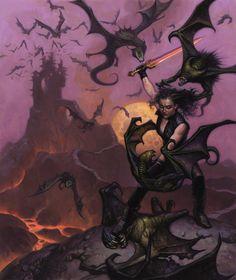 meanwhilebackinthedungeon:  — Mark Zug  The Crimson Blade of Carcosa