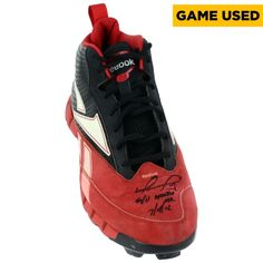 beeb001f819b86 MLB David Ortiz Boston Red Sox Fanatics Authentic Autographed Game Used  Cleat from 400th Career Home