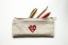 silvART / Srdce (bordový) Coin Purse, Purses, Wallet, Handbags, Purse, Bags, Diy Wallet, Coin Purses