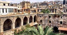 Centro histórico de Trípoli visto do alto de uma construção do século 16. Cidade libanesa está a apenas 30 quilômetros da Síria e se encontra ameaçada pela guerra no país de Bashar al-Assad