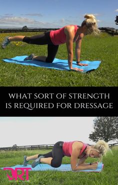Dressage requires a unique sort of strength and fitness. In this article I explain in detail what that is