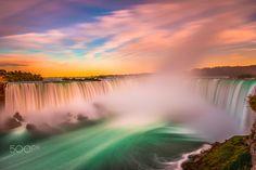 The Horseshoe Falls by Marvin Ramos Evasco on 500px
