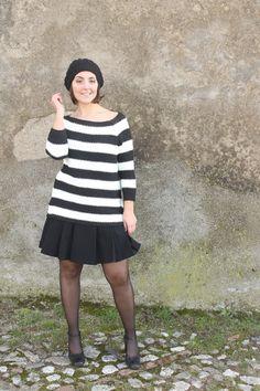 mariniere French style curvy stripes
