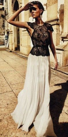 Maxi & Lace ♡ Gorgeous...Just need somewhere to where this to...