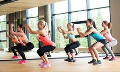 Are you looking for the key to a tighter butt and toned legs? Start squatting! #squats #butt #legs #workout