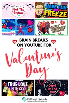 We've rounded up the best videos to get your students up and moving for Valentine's Day! These work with in-person or remote learners. Check them out 💗🕺 #edutwitter #teachingresources Art For Kids Hub, Kids Up, Music For Kids, Yoga For Kids, Kids Songs, Frozen Story, Learning Stations, Dance Teacher, Cat Valentine