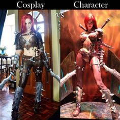 Cosplay Vs Character