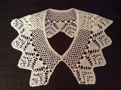 Crochet Collar Pattern, Lace Collar, Crochet Top, Collars, Women, Fashion, Sash Belts, Little Dogs, Dog Clothing