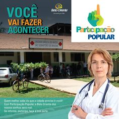 Panfleto Saúde - Campanha de Participação popular