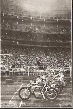Kenny Roberts #80, Houston, TX Astrodome TT National
