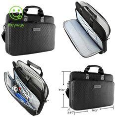 cebc481ad82e Kroser Laotop Bag Laptop Briefcase 15.6 Inch Shoulder Messenger Bag  Water-Repell  fashion