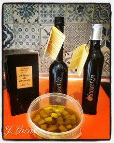 El queso y el aceite hacen muy buenas migas.... #aove #oleosetin #aceite #disfruta