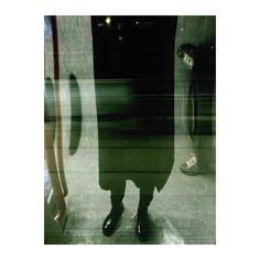 @katgordesign tube, London, reflection, black, coat