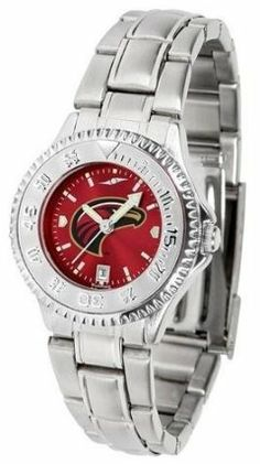 Louisiana Monroe Warhawks Women's Stainless Steel Dress Watch by SunTime. $88.95. Women. Officially Licensed Louisiana Monroe ULM Warhawks Women's Stainless Steel Dress Watch. Water Resistan. Stainless Steel. Links Make Watch Adjustable. Louisiana Monroe Warhawks Women's stainless steel watch. This Warhawks dress watch with rotating bezel color-coordinated to compliment your favorite team logo. The Competitor Steel utilizes an attractive stainless steel band. Perfect ...