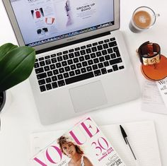 Vestiaire Co-Founder Fanny Moizant's Desk | Vestiaire Collective Instagram