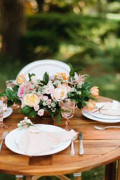 Love this table setting. @cointreau_us #cointreausoiree