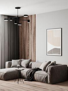 Apartment Interior, Home Living Room, Interior Design Living Room, Living Room Designs, Living Room Decor, Muebles Home, Home Room Design, House Rooms, Luxury Interior