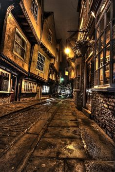 The Shambles, York, UK.