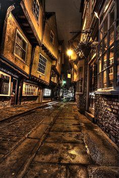 The Shambles, York, UK.