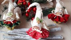 Easy Christmas Diy Tutorial facilissimo per Natale – Arts And Crafts – All DIY Projects Christmas Fairy, Christmas Makes, Felt Christmas, Christmas Angels, Simple Christmas, Diy Xmas, Easy Christmas Crafts, Christmas Projects, Felt Ornaments
