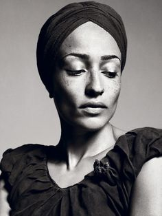 Zadie Smith. Such an extraordinarily beautiful woman, physically and intellectually.