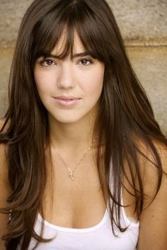 Miraculous Long Hairstyles Hair With Bangs And Layered Hairstyles On Pinterest Short Hairstyles Gunalazisus