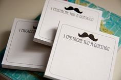 I mustache you a question, but I'll shave it for later Movember Mustache, Mustache Party, Christmas Shopping List, Warm Fuzzies, Invite Your Friends, Cool Gifts, Stocking Stuffers, Holiday Gifts, Card Making