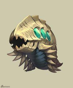 晕乎乎叽一声采集到游戏人设-怪物宠物类(814图)_花瓣游戏