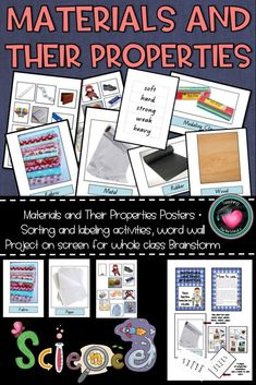 Second top seller in my store! Read the reviews. Perfect for younger years to introduce materials and their properties.