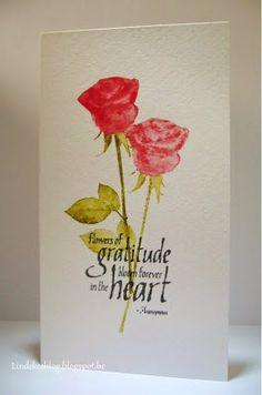 All kind of shades: Darkroom Door rozenkaart - rose card
