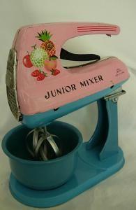 Vintage Toy Kitchen Mixer...... loved my little mixer.....