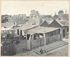 The stables behind 42 Francis St, Glebe.This was in the designated Quarantine Area. Time In Sydney, Sydney City, Gloucester Street, Building Drawing, As Time Goes By, Historical Images, History Photos, Historical Architecture, Sydney Australia