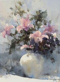 #Акварельные, #Цветы http://adcitymag.ru/akvarelnye-cvety/