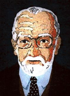 Portrait of my father John Korthals Altes (1922 - 2000) made in 1999.