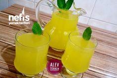 Şahane Doğal Ev Limonatası 3 Litre (Acılık Yok) Tarifi