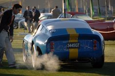 Ferrari 250 GTO #3445GT in blue and yellow