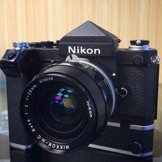 "fotopiahk: A rare Nikon F2 - Titan ""No Name"" www.fotopia.com.hk (at Fotopia Gallery & Camera Equipment)"
