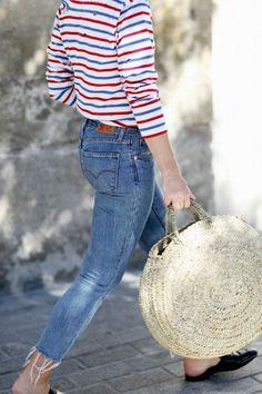 Tendencia: bolsos trenzados, cestas y capazos