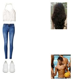 """""""Untitled #299"""" by selena-123 on Polyvore featuring Hollister Co., WithChic and Golden Goose"""