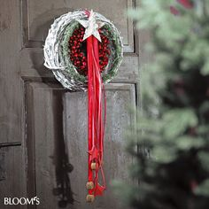 Weihnachtsfloristik im Landhausstil