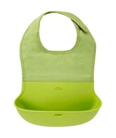 Oxo Roll-Up Bib: Minimize mealtime messes with this clever roll-up bib.